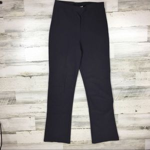Vintage 90s Charcoal Gray Flared Pants Medium